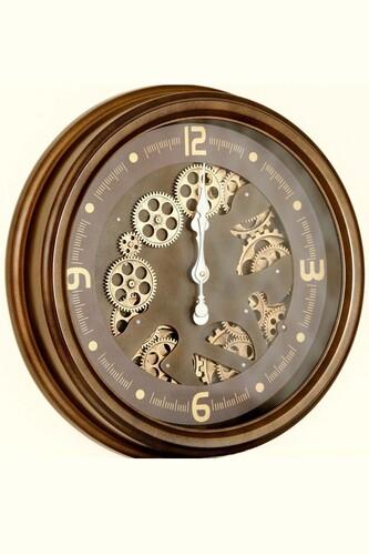 - Lüx Dekoratif Çarklı Saat 3