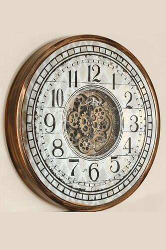 - Lüx Dekoratif Çarklı Saat 4