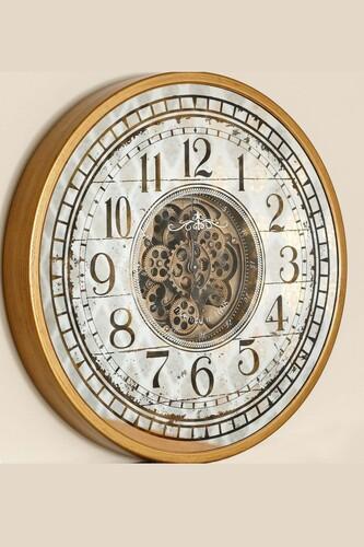 - Lüx Dekoratif Çarklı Saat 6