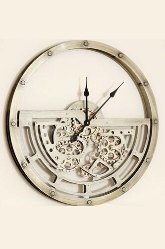 - Lüx Dekoratif Çarklı Saat 7