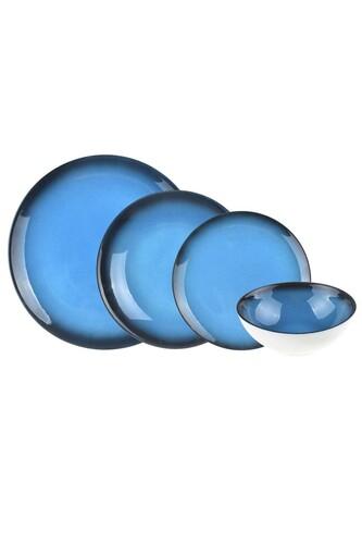 - Mare 24 Parça Bone Yemek Takımı Mavi