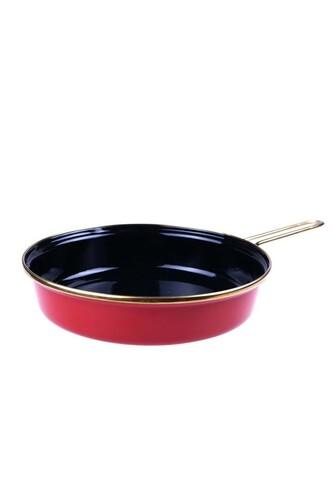 - Mayla - Tava Kırmızı 24 cm