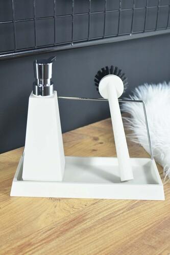 - Melena - Fırçalılı Standlı Sıvı Sabunluk Krem