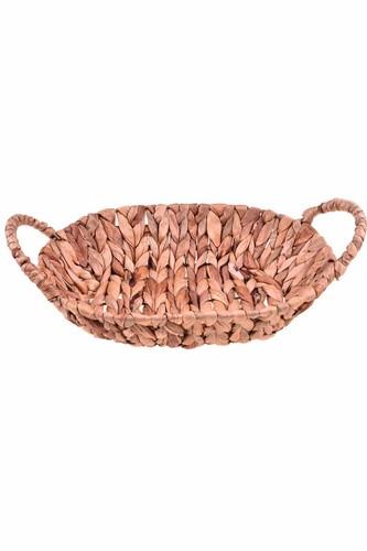 - Mende - Kulplu Sunum Sepeti Oval 34 cm