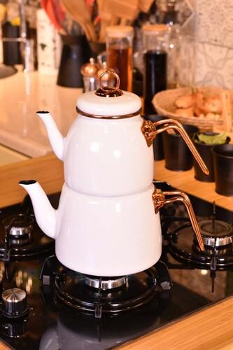 - Miray Çaydanlık Takımı Beyaz