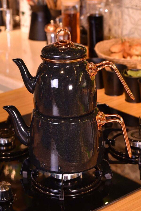 Miray Çaydanlık Takımı Siyah
