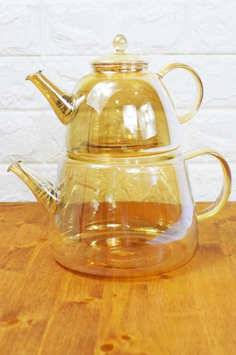 - Mood Bambum Cam Çaydanlık