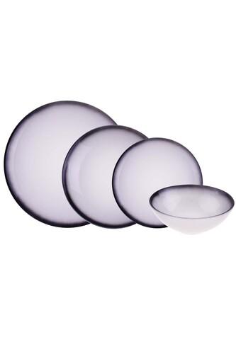 - Moon 24 Parça Porselen Yemek Takımı Syh