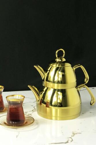 - Özlife - Ela Çaydanlık Takımı 2,3 Litre