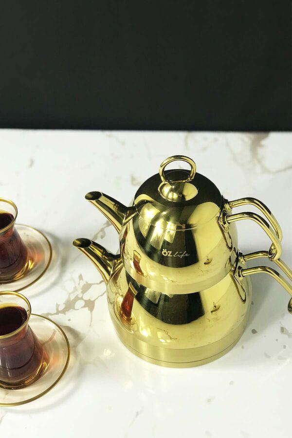Özlife - Ela Çaydanlık Takımı 2,3 Litre