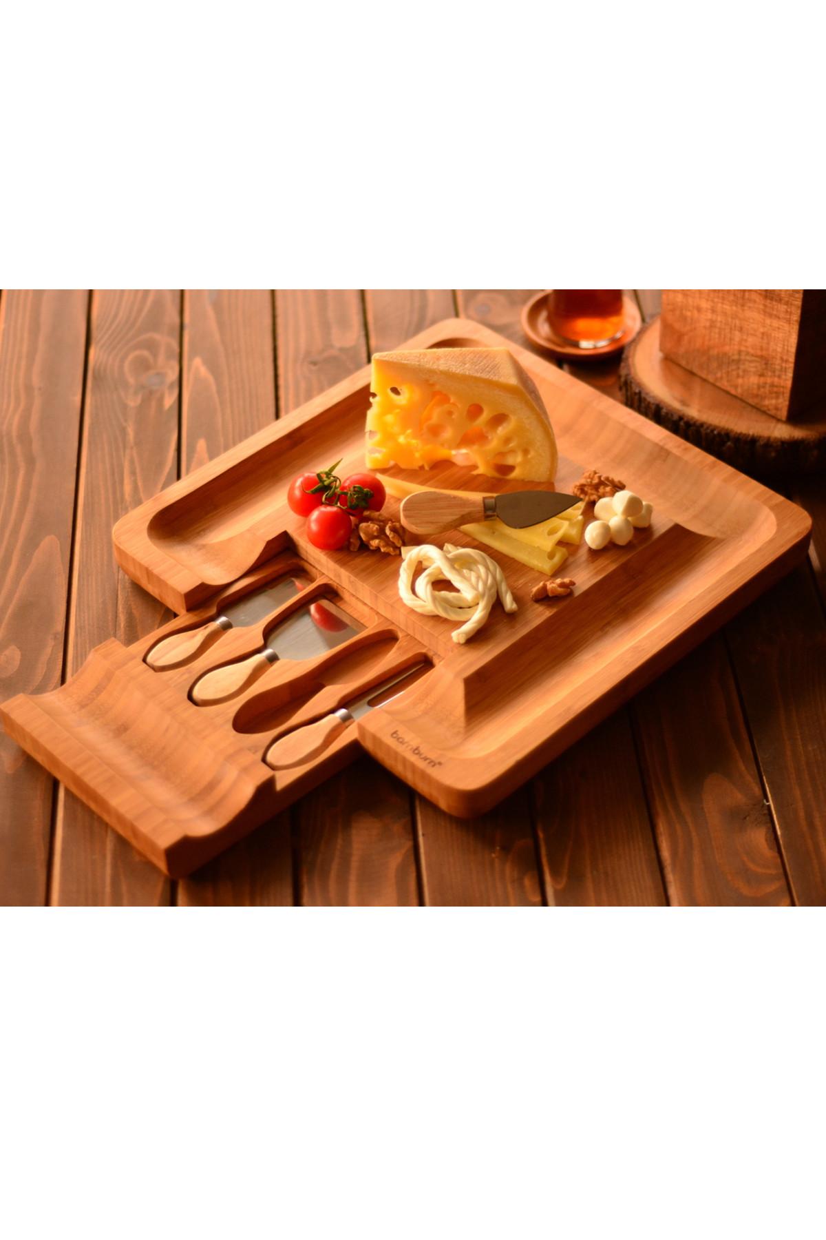Sepetcibaba - Pecorino – 6 Parça Peynir Servis Seti