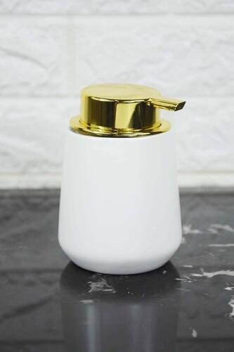 - Pietro Porselen Sıvı Sabunluk Beyaz