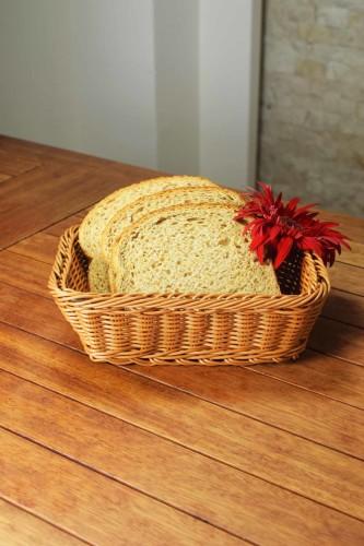 - Plastik - Dikdörtgen Ekmek Sepeti