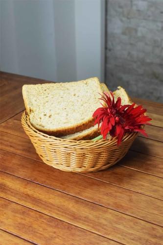 - Plastik - Yuvarlak Ekmek Sepeti