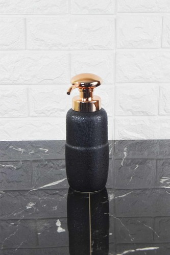 - Porselen Sıvı Sabunluk Bronz