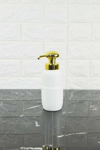 - Porselen Sıvı Sabunluk White