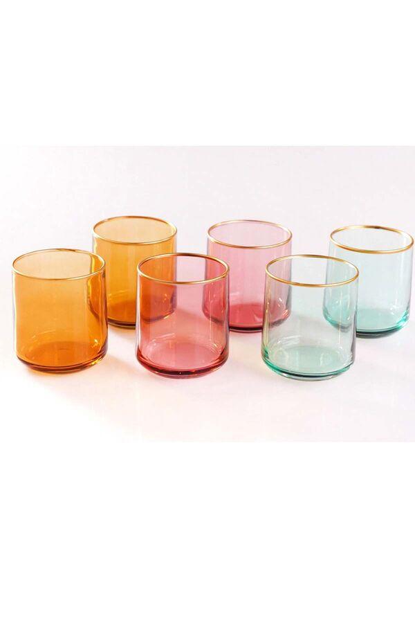 Rainbow - 6'lı Meşrubat Bardağı 260 ml