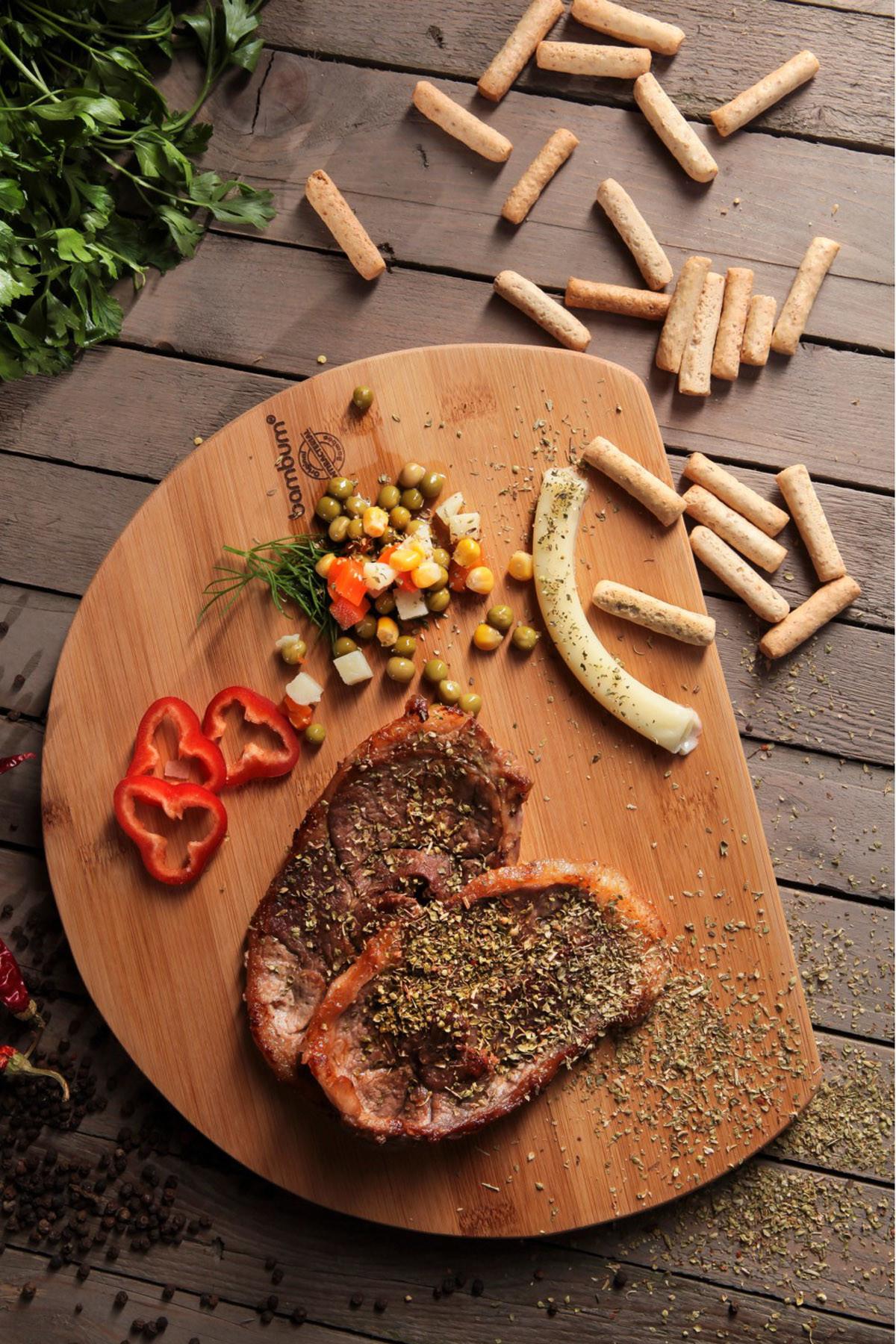 Sepetcibaba - Rica - Kesme Steak Tahtası