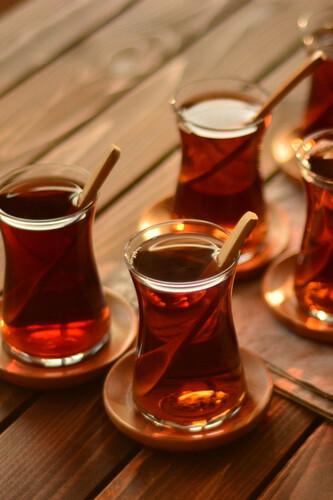 - Silva Fix - 6'lı Yuvarlak Çay Tabağı