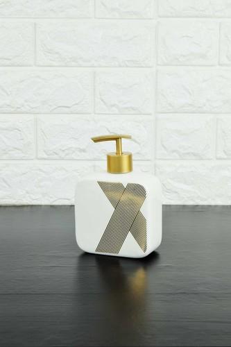 - Sıvı Sabunluk Porselen Beyaz