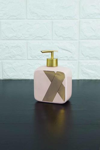 - Sıvı Sabunluk Porselen Pembe