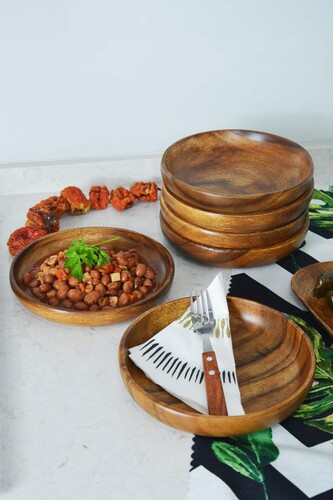 - Sofya - 6 Parça Yemek Tabağı Seti