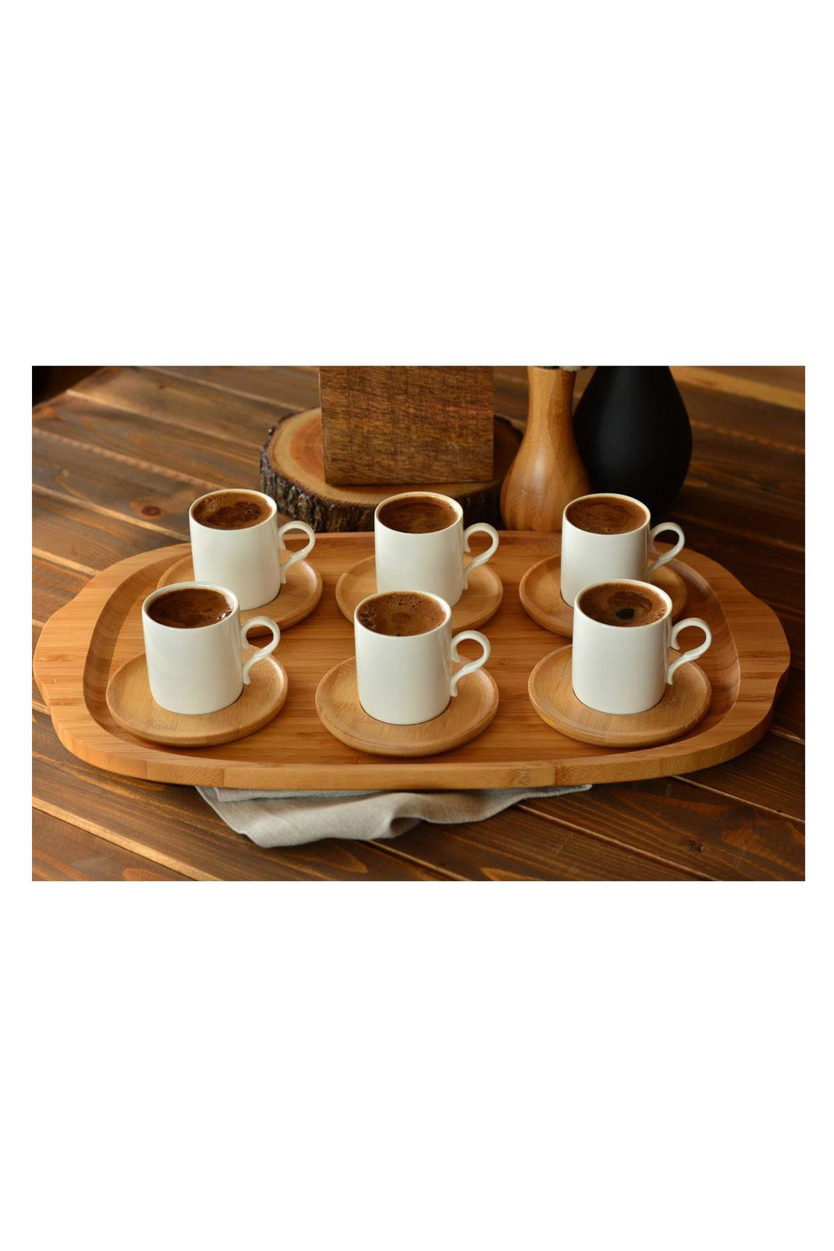 Sepetcibaba - Sosa - 6 Kişilik Kahve Takımı