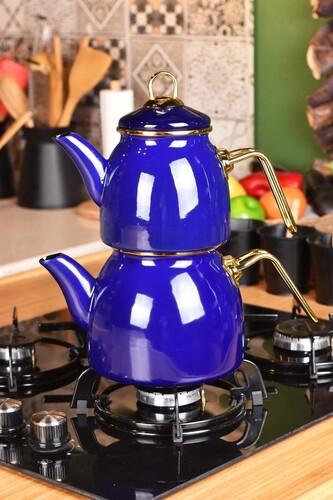 - Sultan - Çaydanlık Takımı Lacivert