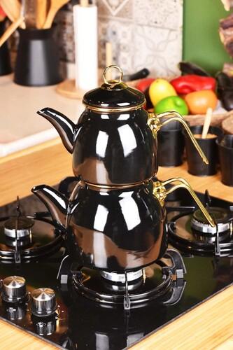 - Sultan - Çaydanlık Takımı Siyah
