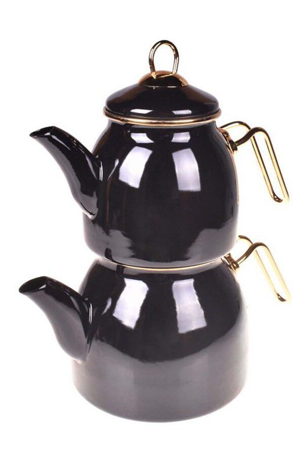 Sultan - Çaydanlık Takımı Siyah