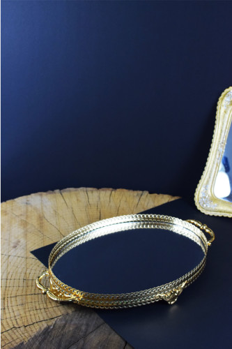 - Tepsi Oval Gold