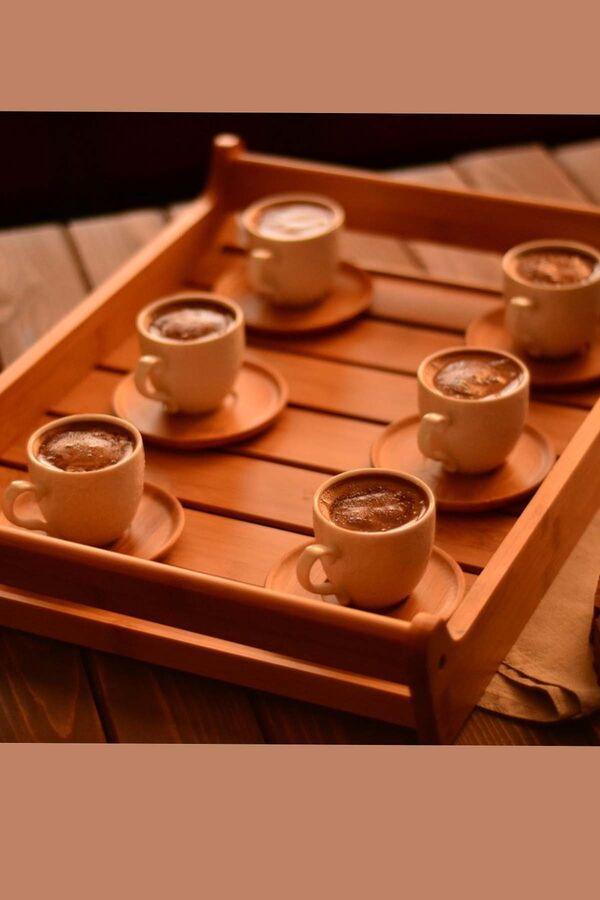 Thore - 6 Kişilik Kahve Fincan Takımı