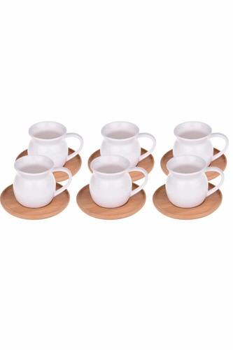 - Torby - 6 Kişilik Kahve Fincan Takımı