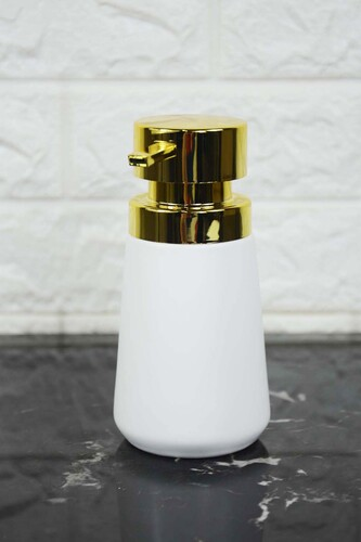 - Trevi Porselen Sıvı Sabunluk Beyaz
