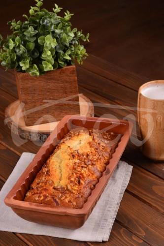 - Turta - 29 x 15 cm Dikdörtgen Kek Kalıbı