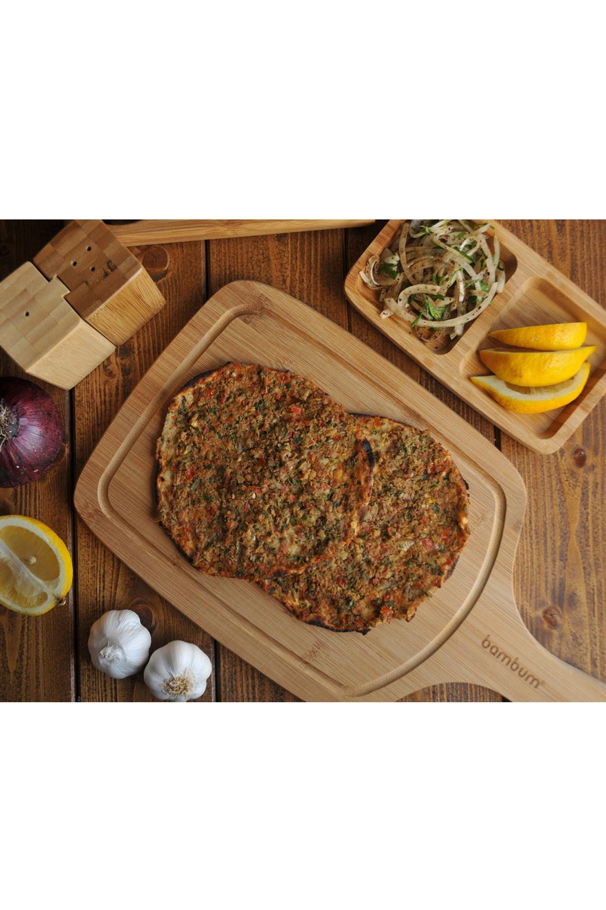 Sepetcibaba - Valdes - Kesme Steak Tahtası Küçük