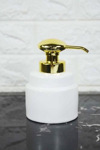 - Verona Porselen Sıvı Sabunluk Beyaz
