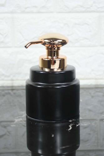 - Verona Porselen Sıvı Sabunluk Siyah