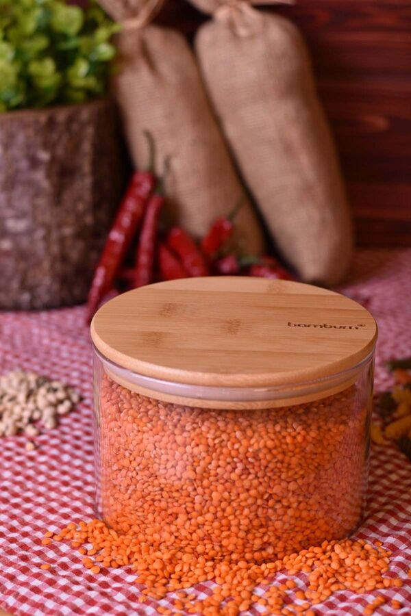 Wolla - Cam Saklama Kabı 10 cm
