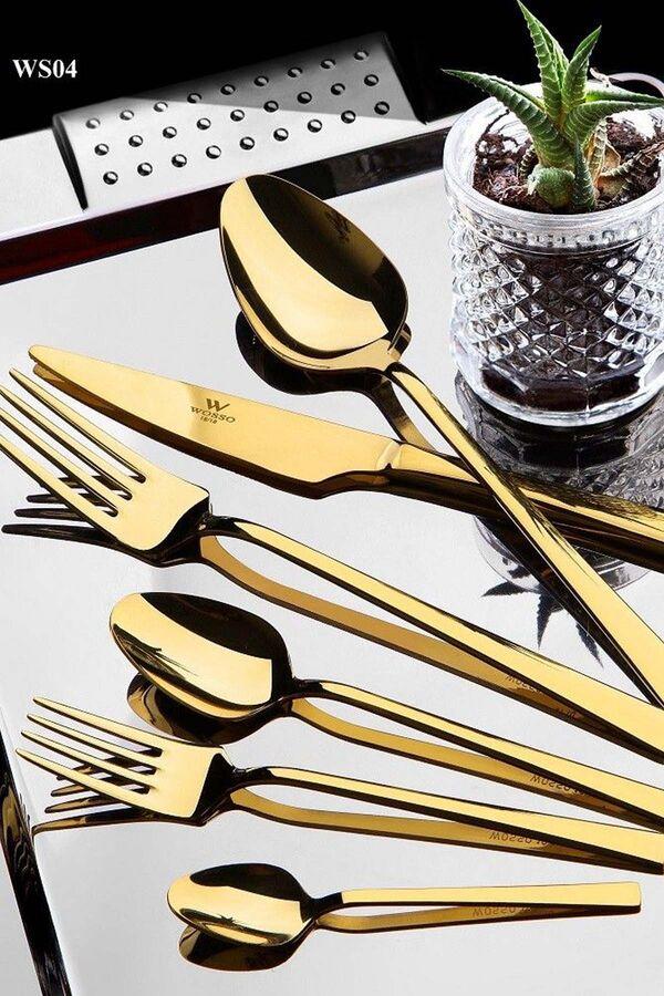 Wosso 36 Parça Çatal-Bıçak-Kaşık Seti