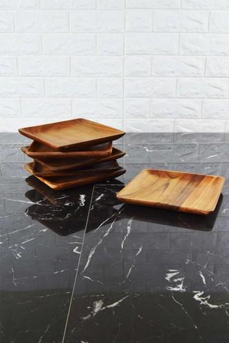 - Zen - 6 Parça Yemek Tabağı